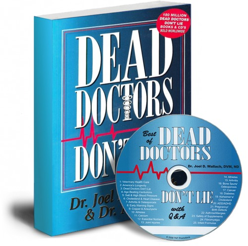 Dead Doctors Don't Lie Book and CD