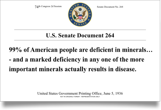 US Senate Document 264